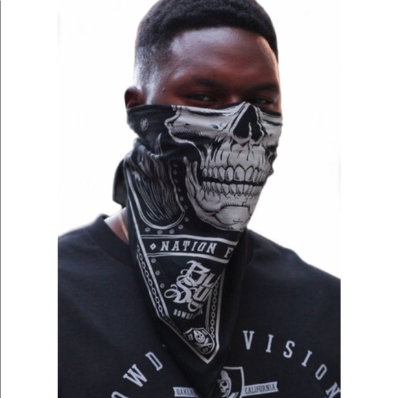 Black Sunday Oakland Raiders Skull Cap Mask 0ec3670fef5